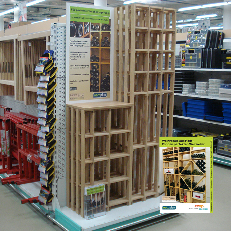 caveaustar medio unser bestellsortiment bei coop b h. Black Bedroom Furniture Sets. Home Design Ideas