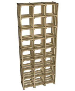 CaveauStar Weinregal CS-Basic-25 - 3D-Ansicht