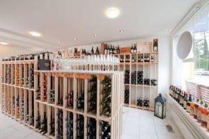 Vinothek Sommelier's Choice, Weinregale von CaveauStar