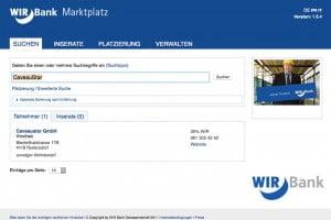 CaveauStar & WIR Marktplatz